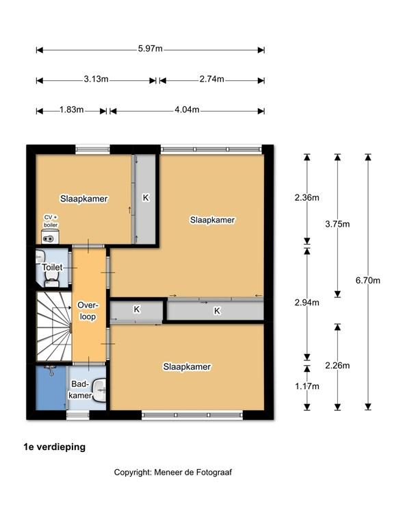 Sperwerstraat 11 1e verdieping