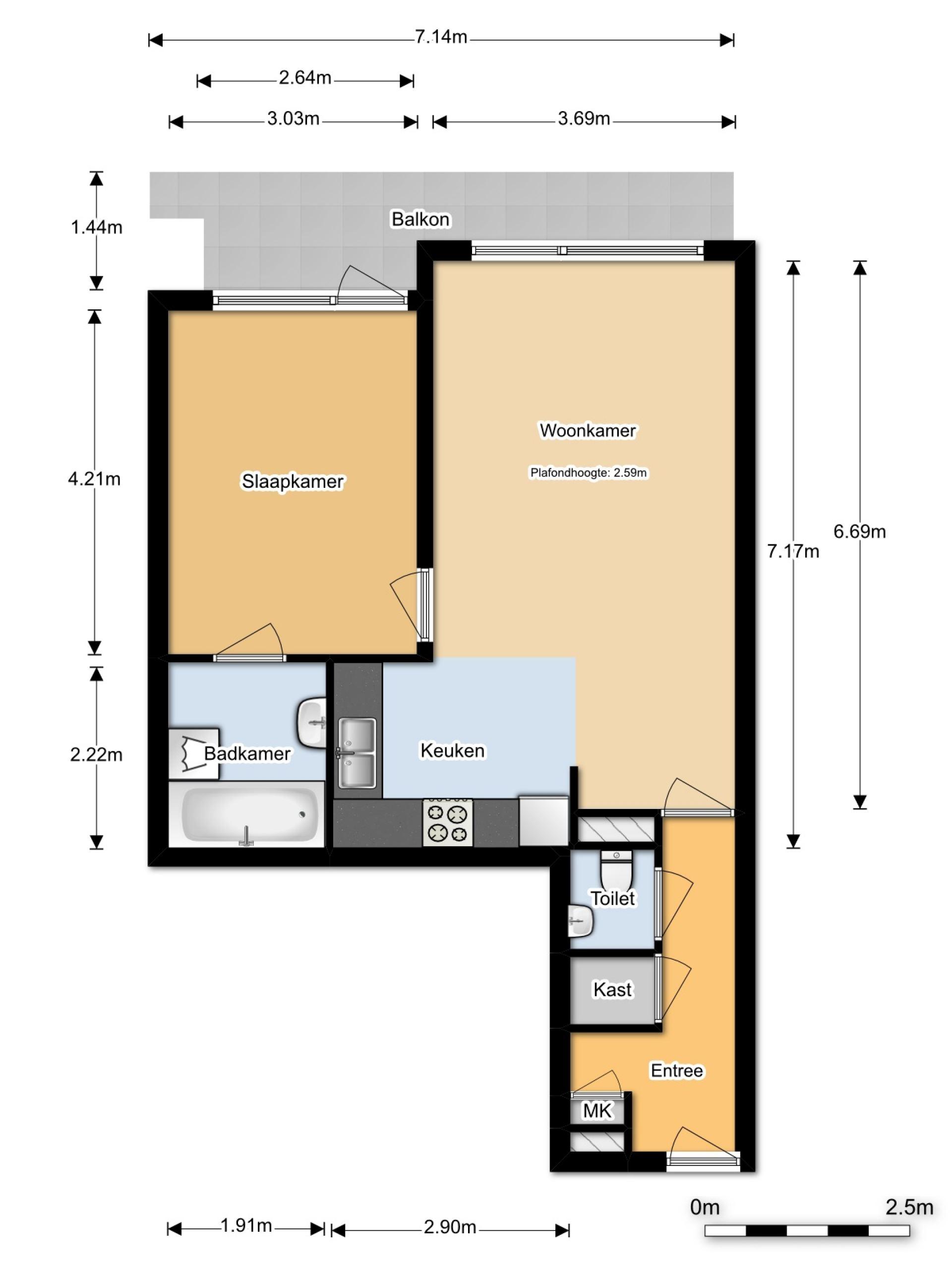For rent: Lange Hilleweg 426, 3073BZ Rotterdam
