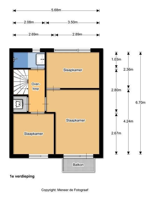 Wilgenlaan 13 1e verdieping