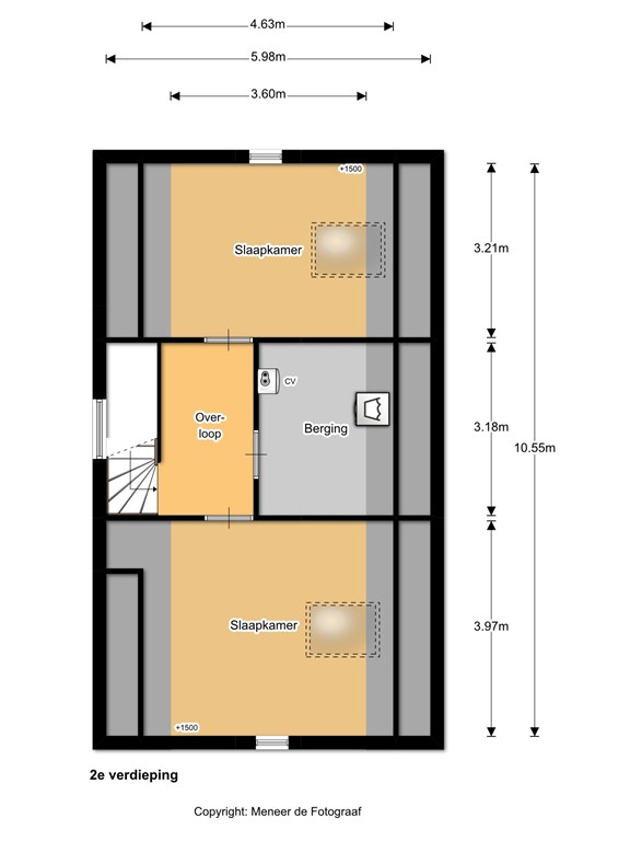Veldesdoorn 23 2e verdieping