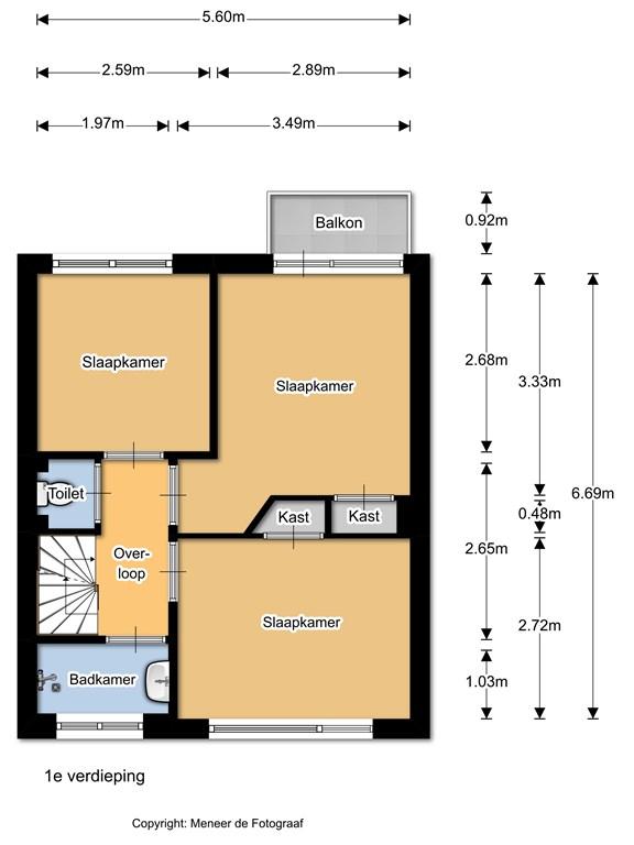 Wilgenlaan 15 1e verdieping