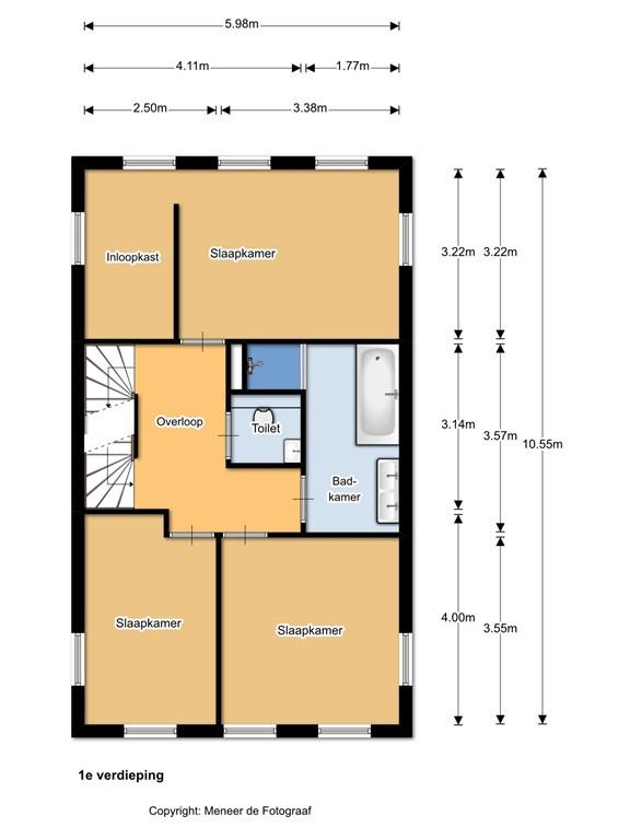Veldesdoorn 23 1e verdieping