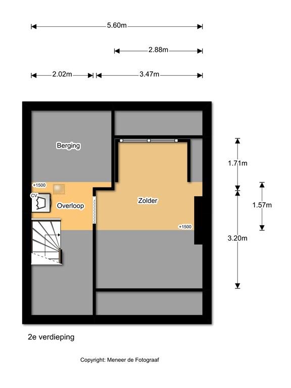 Wilgenlaan 15 2e verdieping